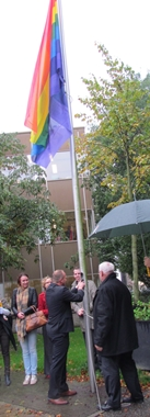 regenboogvlag-PvdA Hillegom Gerrit Kleijheeg 2