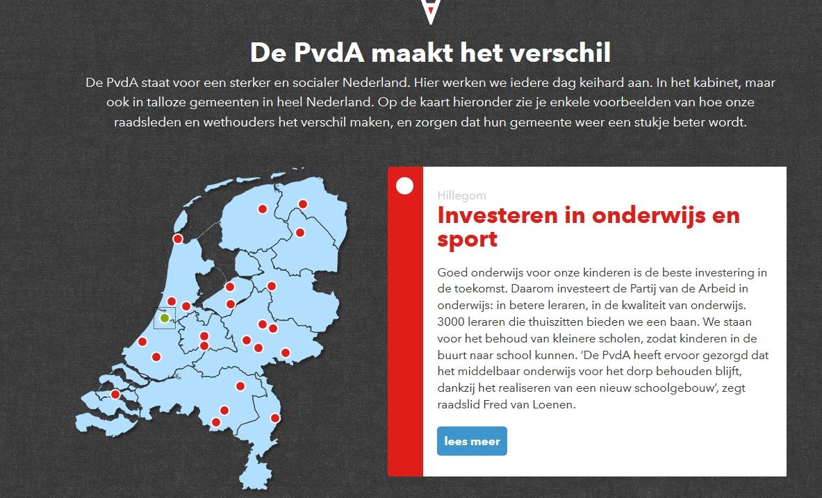 PvdA Hillegom landelijk gerrit kleijheeg